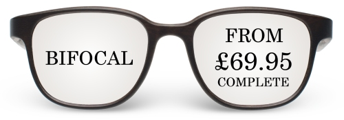 Bifocal From Lenses from £69.95